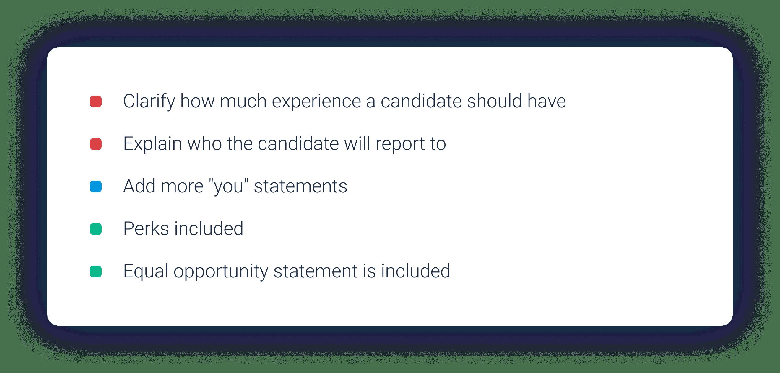 Job description software guidance in Datapeople.
